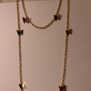 Sarah Coventry Flutter Byes Necklace Set Mid 1970s